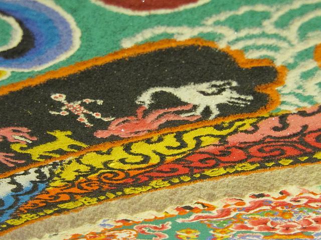 Mandala tibétain 2