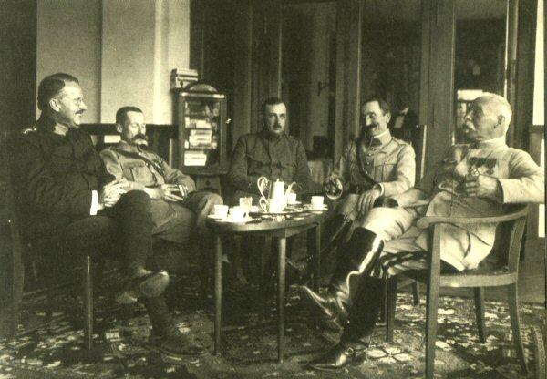 Carl Gustav Jung, Château d'Oex, Grande Guerre
