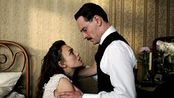 A Dangerous Method Keira Knightley et Michael Fassbender