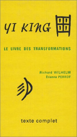 Yi King (Richard Wilhelm